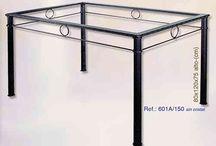 Muebles y accesorios de forja / Mobiliario y accesorios fabricados en hierro forjado. #forja #muebles #mobiliario #accesorios