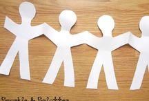 paper pin people