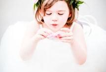flower girl hair