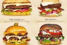 different burgers