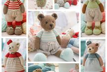 Toys - knitted -