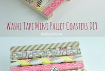 Washi-tape crafts