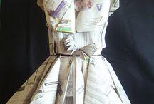 trajes reciclados