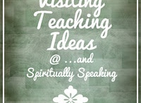 visiting teaching / great ideas for visiting teaching