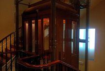 El Museo Lázaro Galdiano / Tablero dedicado a imágenes del edificio del Museo Lázaro Galdiano: sus salas, el exterior, el ascensor...