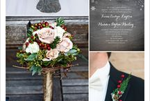 Winter Jolly Wedding / Winter Wedding Inspirations
