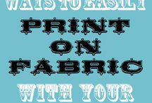Quilting - printing on fabric