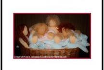 07. WALDORF DOLLS TUTORIALS / fare bambole