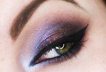 Makijaż wieczorowy z kolorem