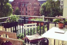 My Copenhagen home. / My balcony