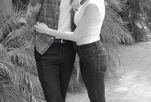 Rockabilly couple