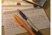 Studying and Note Taking