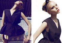 Vasilisa Gusarova women's styling