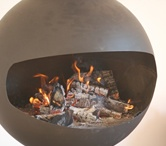 Stylish Open Fires / Here is a fabulous selection of stylish open fires, wood burning stoves and fireplace ideas for your home.