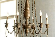 light fixtures / by Stacy Busenitz