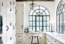 The Heart of the Home- Kitchens / Beautiful kitchens from around the world - simple, white, wooden, modern, English, Scandinavian. Love it!
