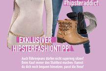Hipsteraddict / Hipsterfashion-Kleidung, in denen man andere flasht und sich gleichzeitig wohlfühlt!