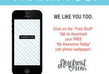 Freebies & Giveaways / by Storefront Deals