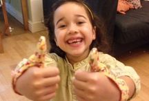 Some Happy Children wearing Thumbsie thumb guards / Thumbsies are easy and comfortable to wear and help children to stop thumb sucking. www.thumbsie.co.uk