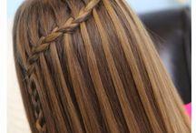 fryzury komunijne / Inspiracje i pomysły na fryzurki komunijne dla dziewczynek.