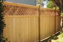 Fences with toppers.