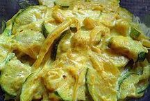 courgette lait coco curry