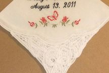 Butterfly Wedding Theme / by Li'l Inspirations - Personalized Wedding Handkerchiefs, Blankets and One of Kind Baptism Gifts Custom Embroidered