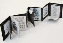 Print / Selection of other's and my own work in book art and print.