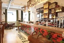 Bars, Eateries and Bakeries / Absolutely fabulous restaurants, bars and cafes partnered with beautiful tiles.