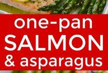 Salmon dinners