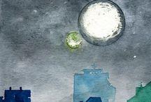 달 (몽환