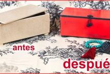 ANTES y DESPUÉS / Una simple madera se puede convertir en una caja japonesa