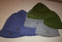 Christmas 2017 beanies / Beanies which I knitted and gave as presents on Christmas 2017