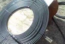 solar hot water heater