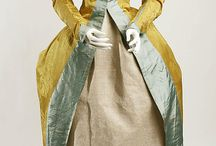1750-1799 - Extant gowns