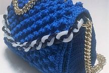 Crochet bags Coco Chanel Style