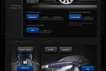 UI automotive