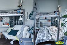 Малко пространство за много гости / Няма тясно пространство, в което да не можеш да поканиш гости. Без значение дали очакваш приятели за вечеря или роднините ти се повяват изненадващо на вратата, с тези няколко лесни стъпки дори и в най-малкия апартамент ще се намери място за още двама-трима.