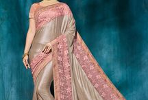 2672 Crystal3 Designer Saree /  look gorgeous at an upcoming any occasion wearing the this designer saree. Its specially design for the woman which want to wear unique design saree.