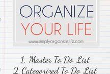 organize life