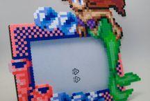 Disney bead art