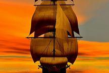 Boats, Ships, Yachts, Canoes / Sailing, Sailing / by Jacqueline Owens