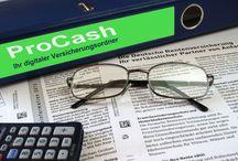 ProCash der digitale Versicherungsordner / Verpassen Sie ab jetzt keinen Wechseltermin mehr zu Ihren Versicherungsverträgen. Natürlich ohne Verpflichtungen und ohne Maklermandat (Ihr Berater bleibt - Ihr Berater)  ProCash - einloggen, Verträge einpflegen und jedes Jahr profitieren!