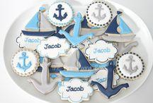 Cookies/cake nautical
