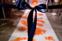 blossom with an orange wedding theme! bright and beautiful
