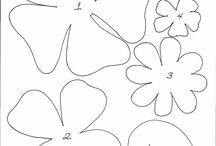 Printable flower concepts