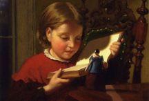 arte - Seymour Joseph Guy (1824-1910) / arte - pittore americano