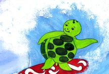 My Children's Book's / These are stories I have written & illustrated myself!!1