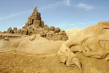 Sand Sculpture / by Steve Boling