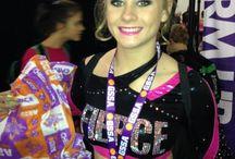 FIERCE GSSA / Fierce All Star Cheerleaders at GSSA competition in Visalia, Cali